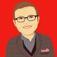 Greg gibson   headshot   cartoon avatar   profile pic