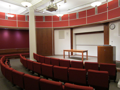Silver Center, Room 101A (Jurow Lecture Hall)