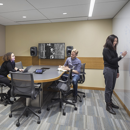 Bobst Collaborative Media Rooms