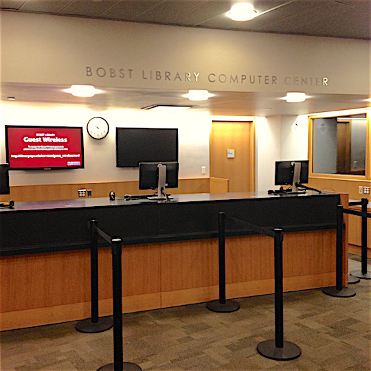 Bobst Library Computer Center