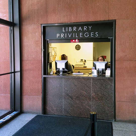 Library Privileges: Bobst Library