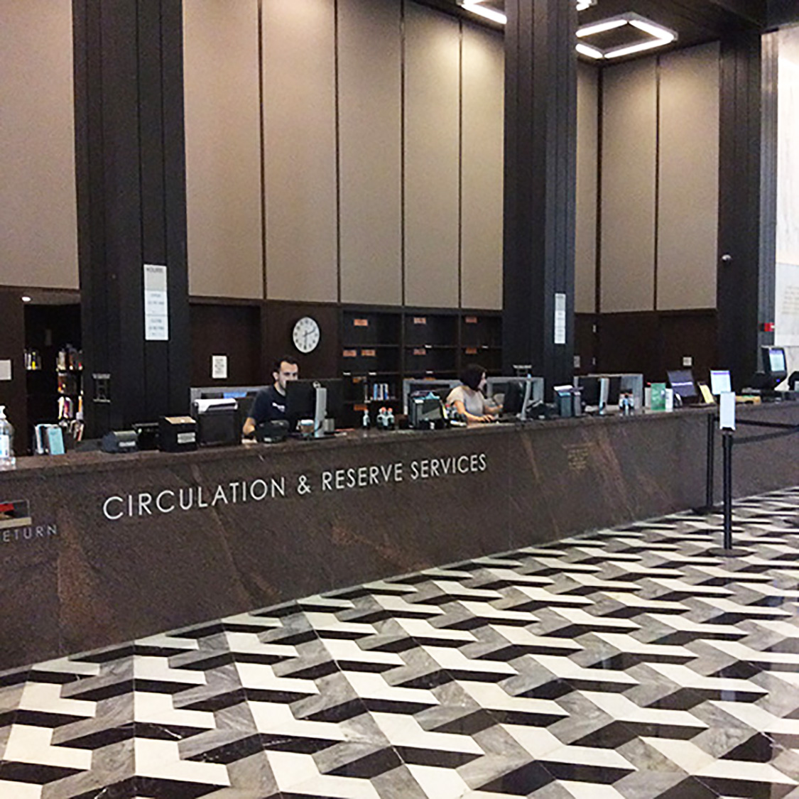 Circulation & Reserve Services