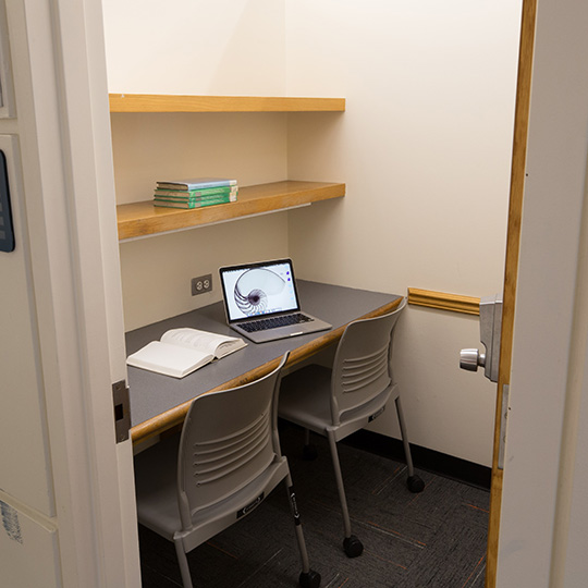Study Rooms Dibner Library