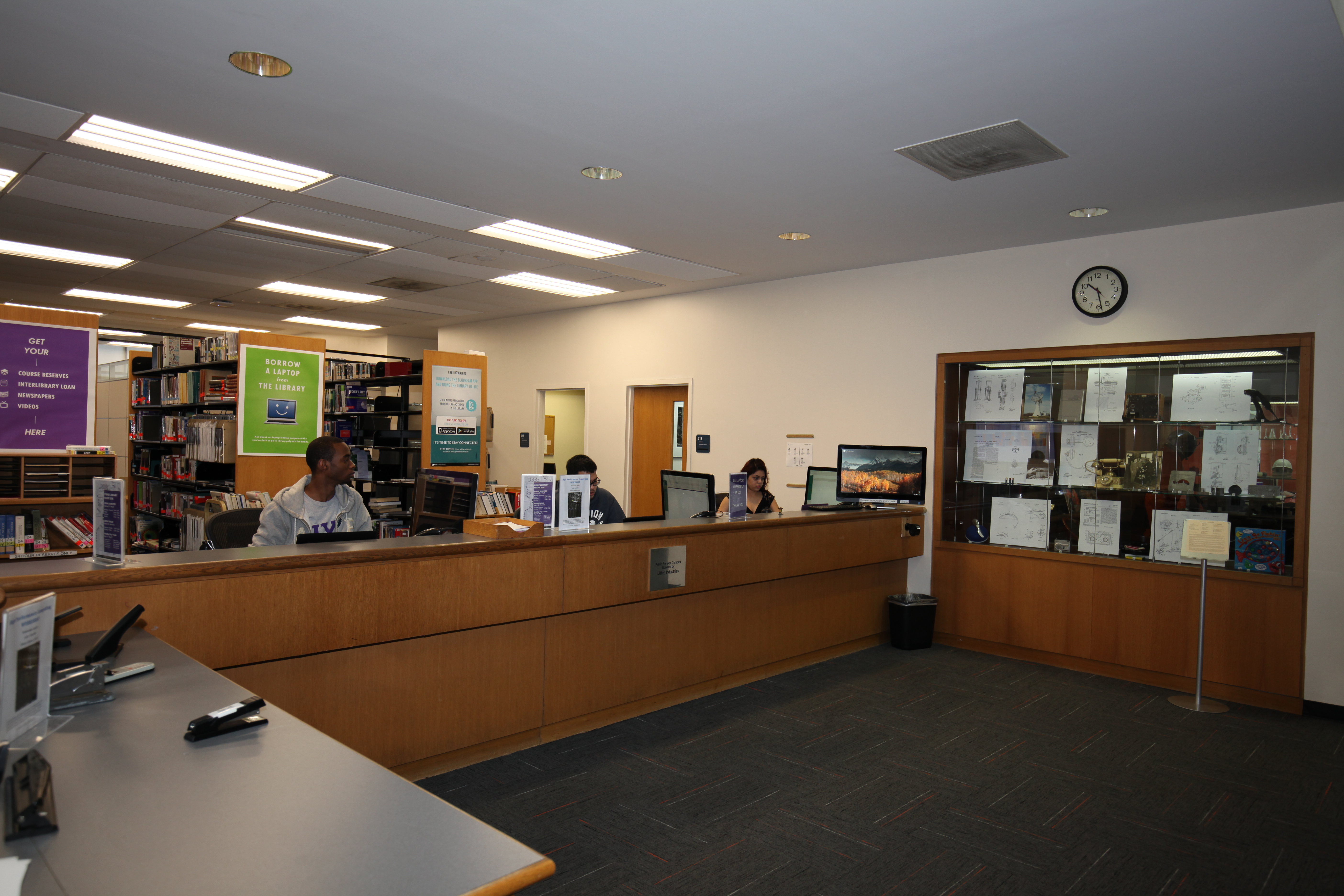 Public Services: Dibner Library