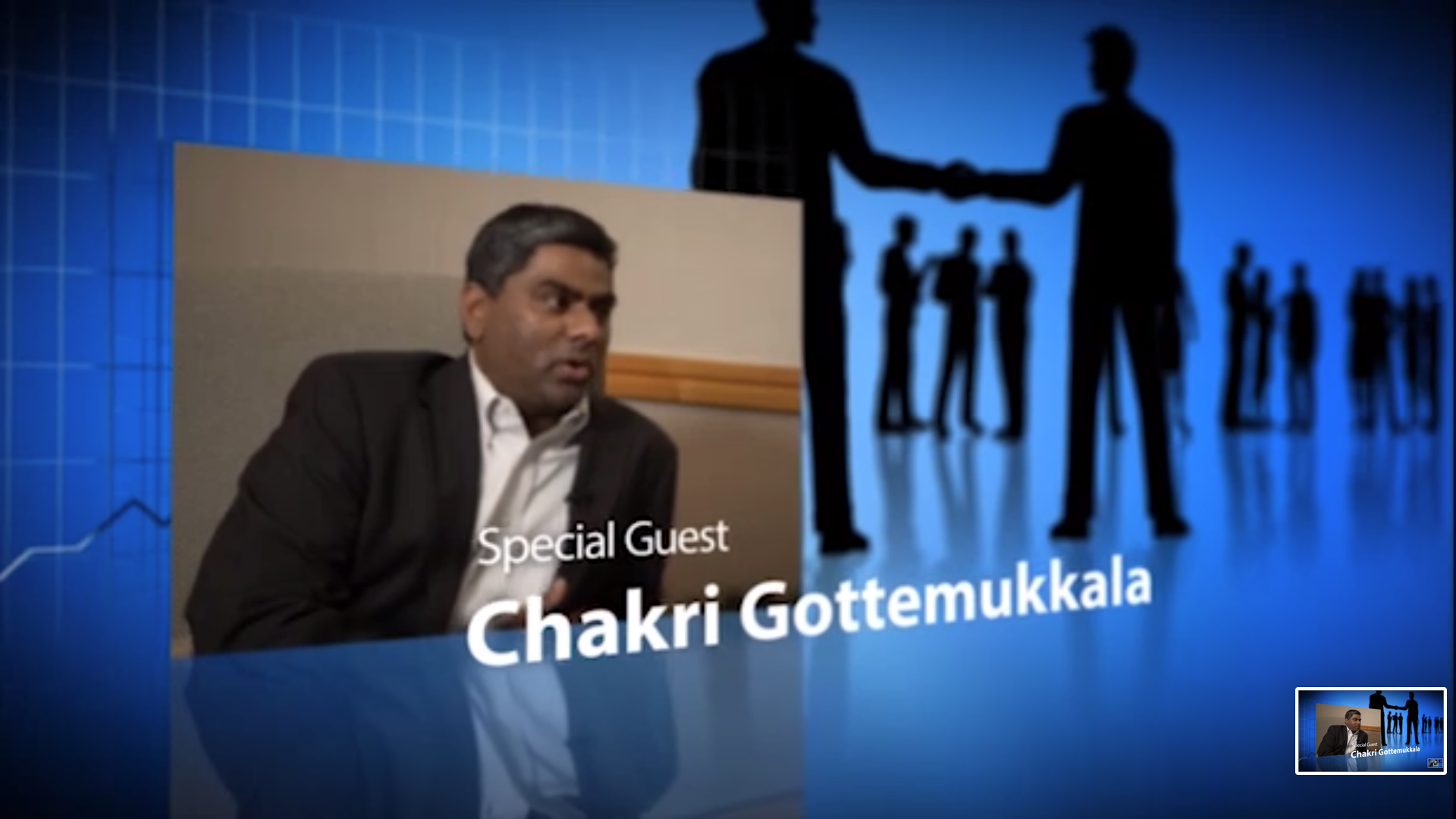 Chakri Gottemukkala interview with Supply Chain Brain