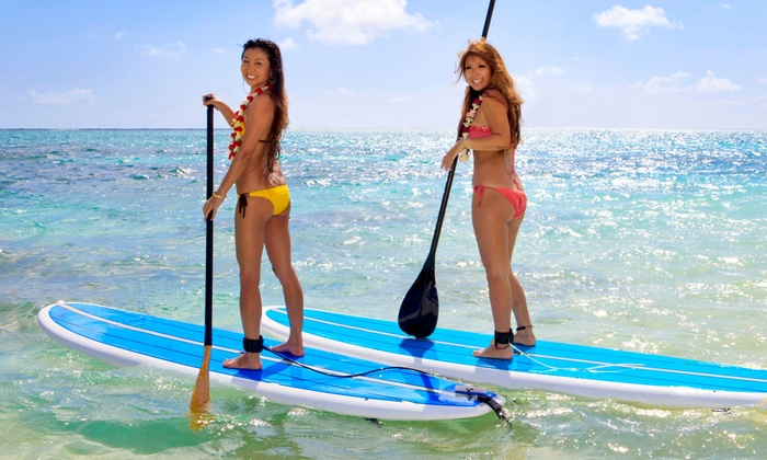 Product North Shore Surf or SUP Lessons