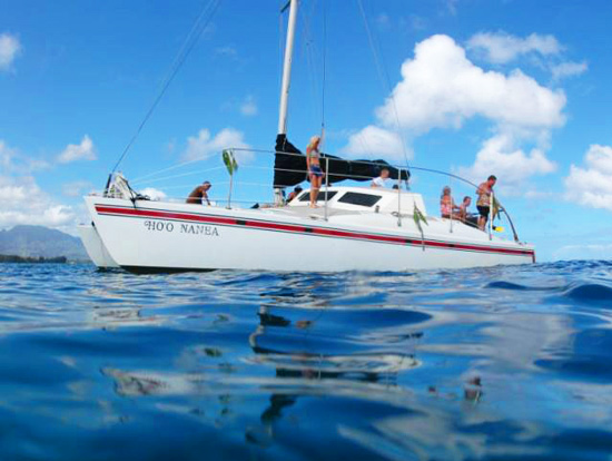Product Afternoon Sail & Snorkel - North Shore