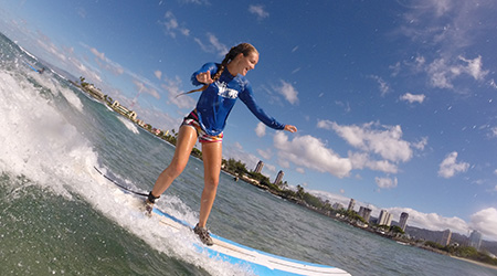 Product Waikiki Surf or SUP Lessons