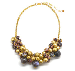 Bead statement necklace  53748