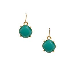 Mini turquoise drop earring  35863