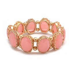 Pink stretch bracelet  35126