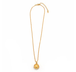 Spiked pendant necklace1  13893
