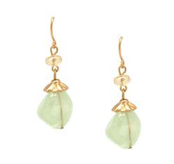 Mint lucite earrings  40867