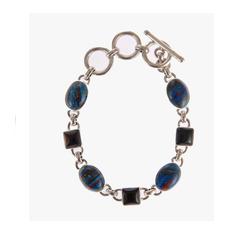 Onyx gemstone bracelet  11627