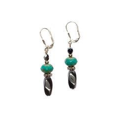 Hematite earrings  23783