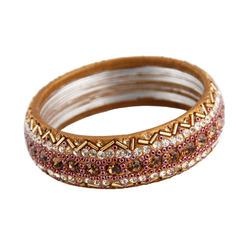 Brown crystal bangle  43429