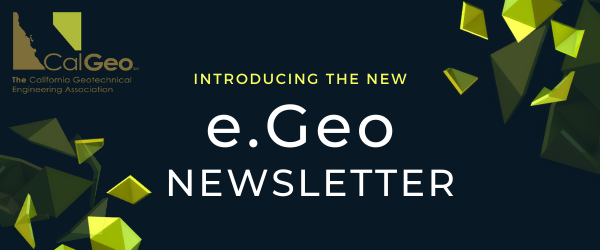 CalGeo e.Geo Newsletter