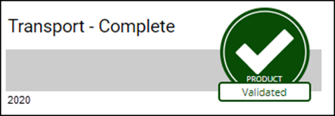 Validation badge