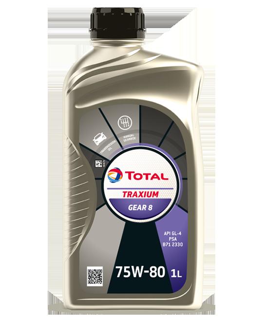 TRAXIUM GEAR 8 75W-80