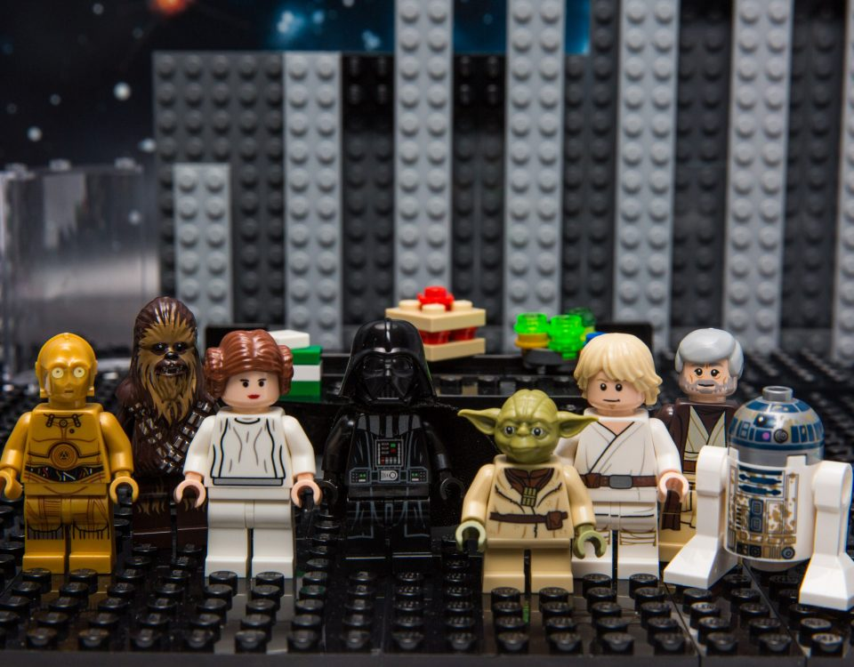 LEGO All-Stars Studio experience, where dads and their kids can direct their very own stop motion LEGO Star Wars film.