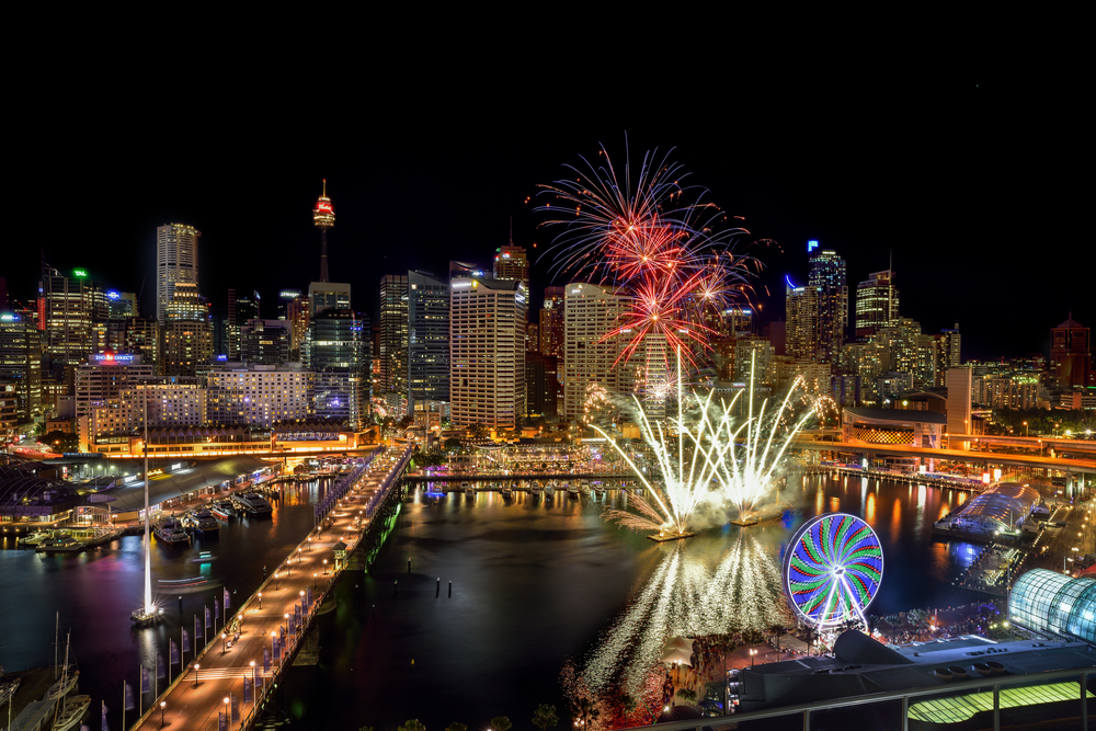 Darling Harbour fireworks. Picture: Shutterstock