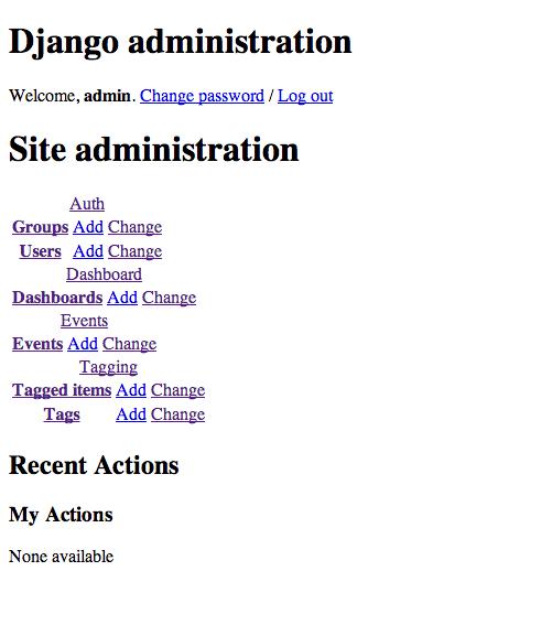 obfuscurity  - Graphite Tip - Django 1 4 Admin Workaround