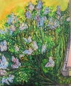 Lilacs from Bedroom Window (thumbnail)