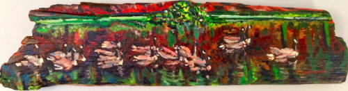 Canadian Geese on Harlem Meer (thumbnail)
