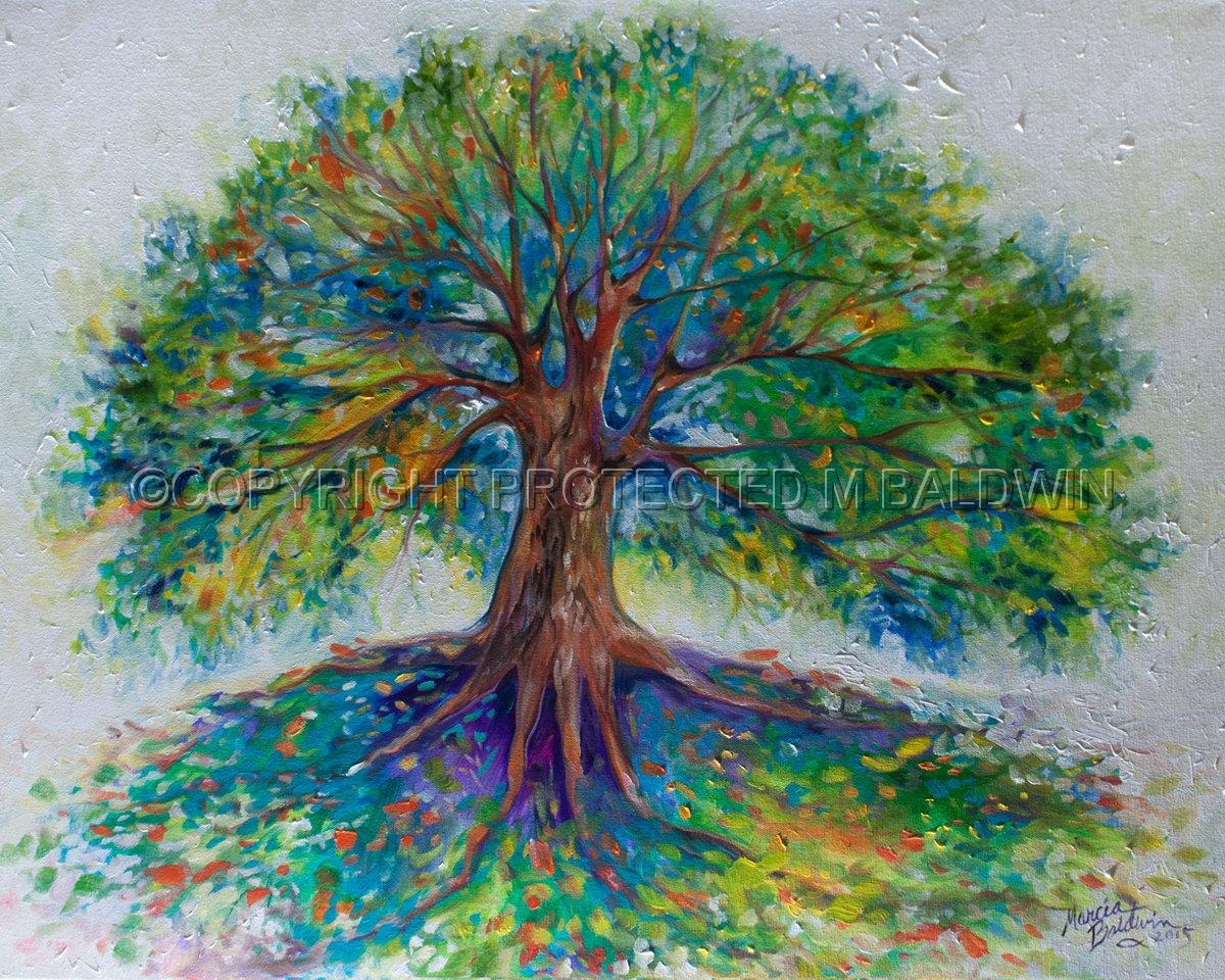 Contemporary Painting Quot Tree Of Happy Original