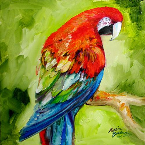 Acrylic Bird Paintings For Sale