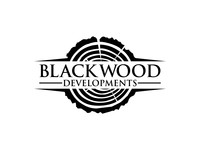 Black wood logo designs