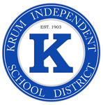 Blue krum isd seal with k