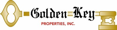 Golden key high definition logo