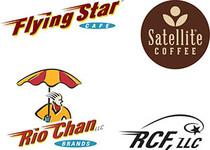 Flying star logos