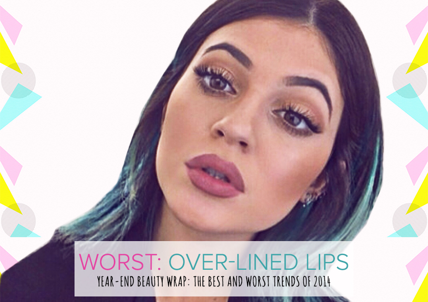 year end beauty wrap up the best and worst trends of 2014