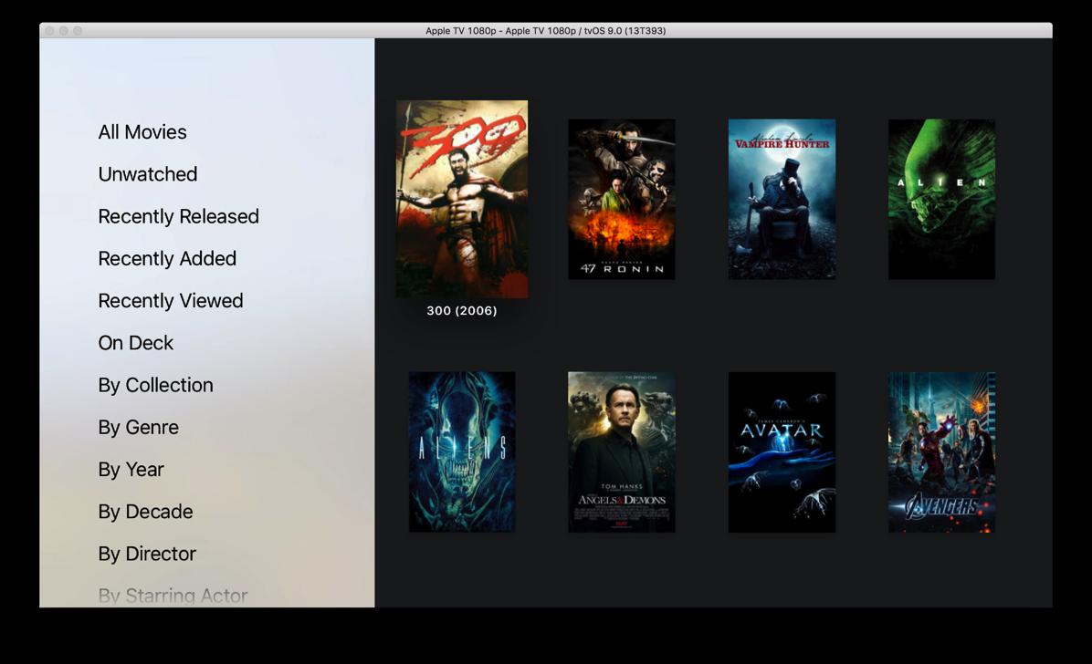 New server movies