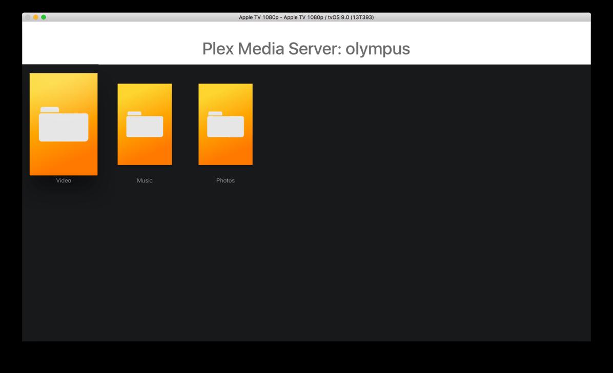 Old server plex