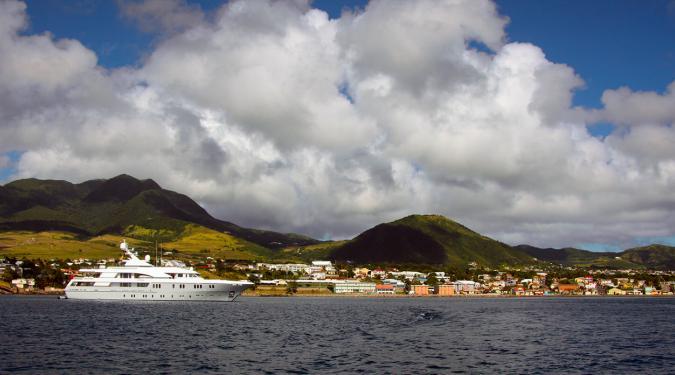 St. Martin yacht Charter Harbor