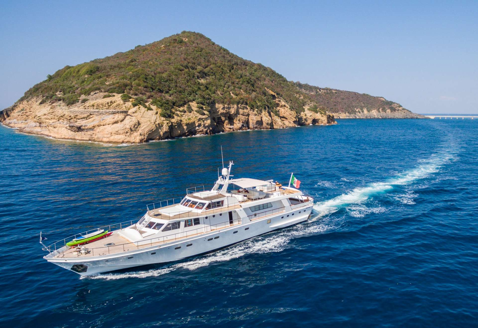 Power Yacht 'Power', 10 PAX, 6 Crew, 108.00 Ft, 33.00 Meters, Built 1975, Admiral - It, Refit Year 2015