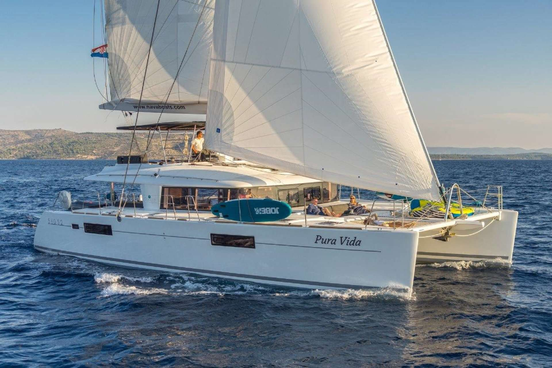 Cat Yacht 'Cat', 10 PAX, 2 Crew, 55.00 Ft, 17.00 Meters, Built 2016, Lagoon, Refit Year