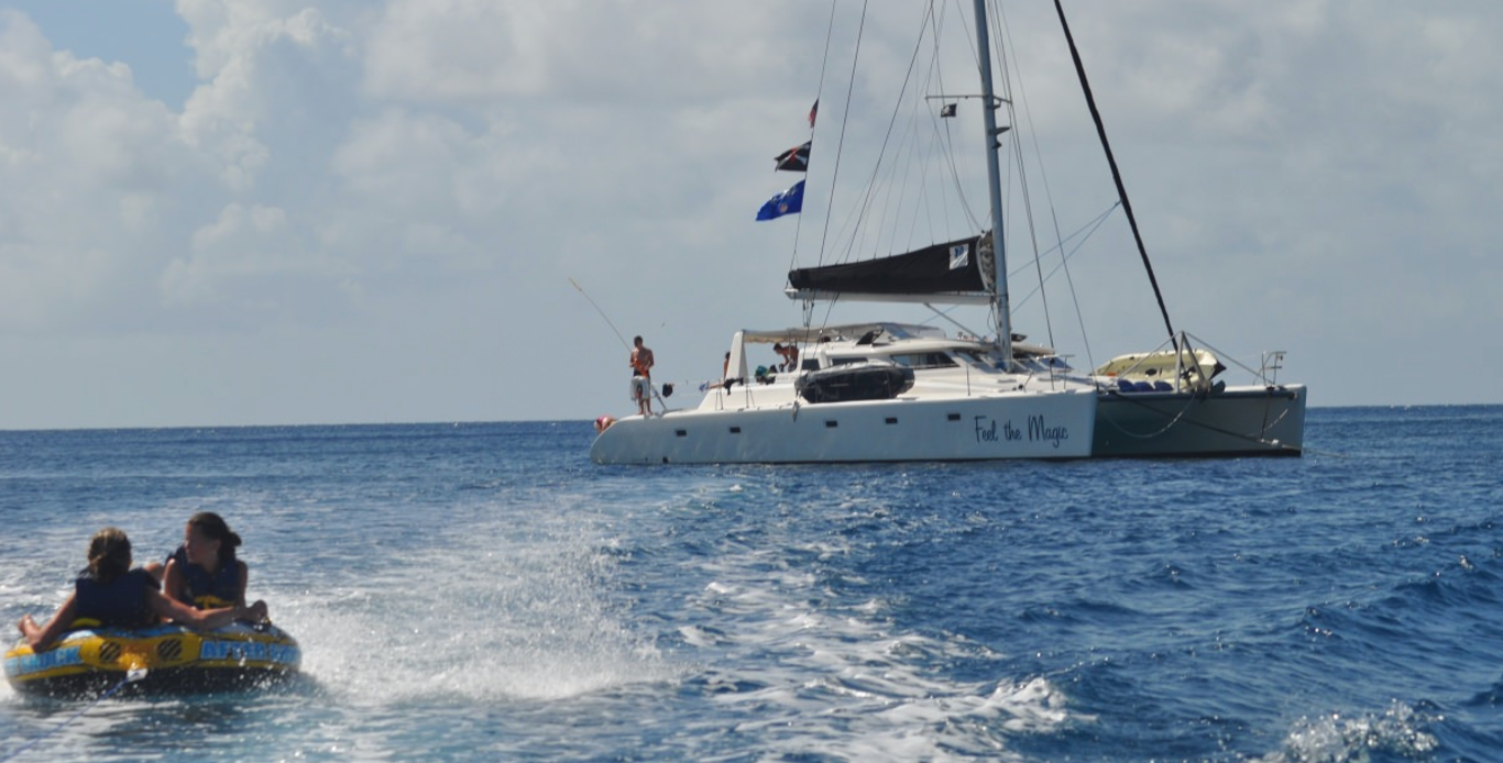 Crewed Catamaran Charters - Feel the Magic in St. Thomas - Boat Rentals