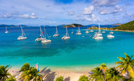 Ocean Getaways Group charter in the Virgin Islands