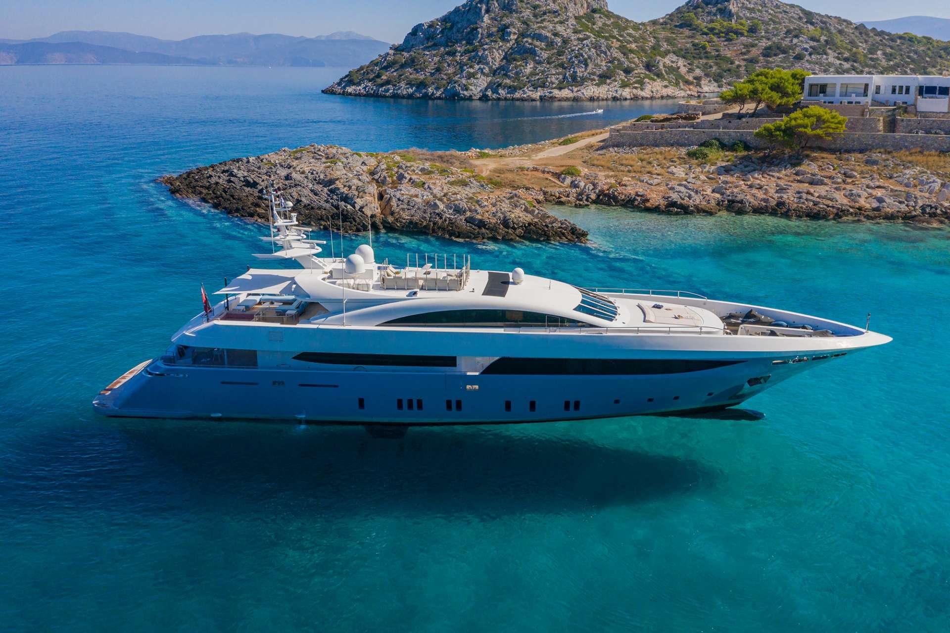 Power Yacht 'Power', 12 PAX, 8 Crew, 136.00 Ft, 41.00 Meters, Built 2008, Mondomarine, Refit Year 2018