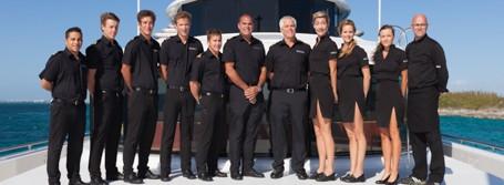 superyacht charter crew