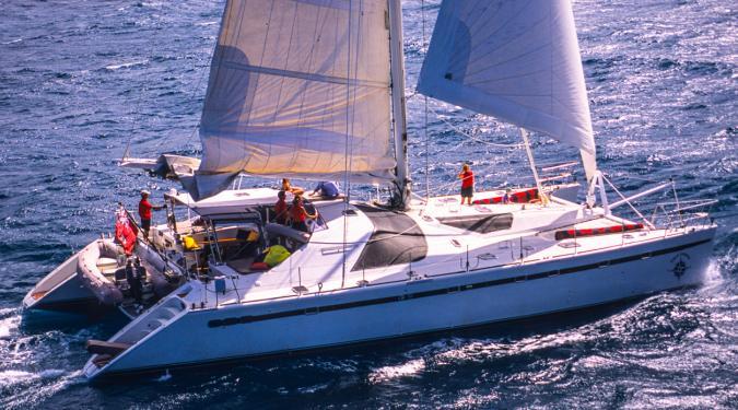 BVI yacht charter catamaran