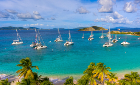 U.S. and British Virgin Islands yachts