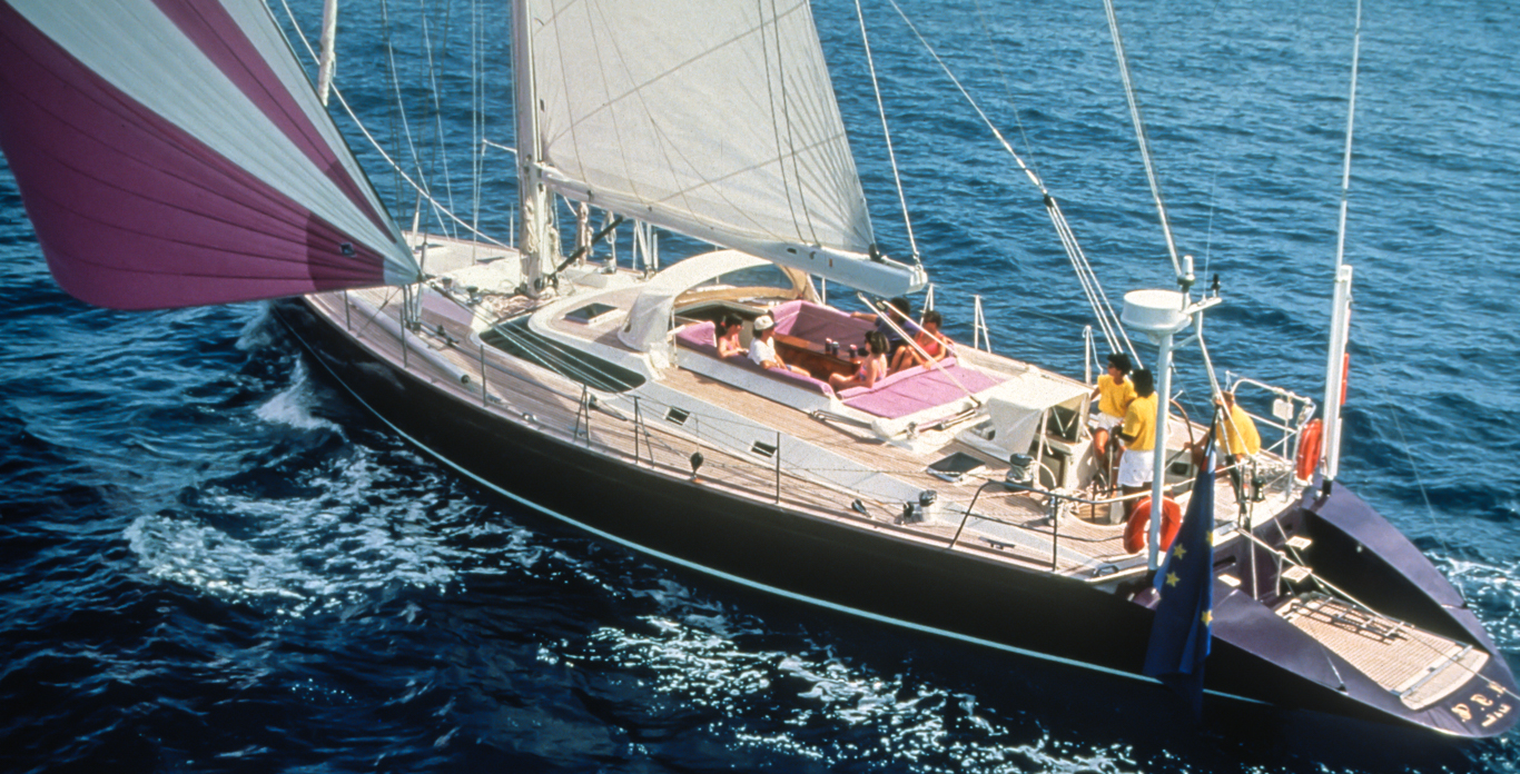 sailing yacht charter vacation