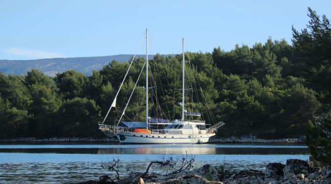 Croatia gulet charter yacht
