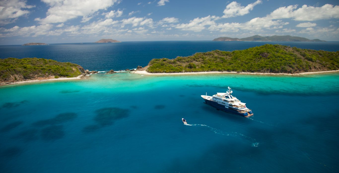 superyacht charter in Virgin Islands