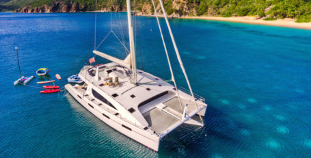 Virgin Islands Yacht Charter on Catamaran Zingara